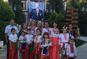 Ukrayna halk dansları ekipi, Ankara'da festivale katıldı