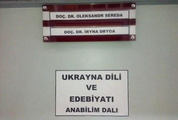 Güzel şeyler de oluyor; Türkiye'de ilk kez Ukrayna Dili ve Edebiyatı Kürüsü açıldı