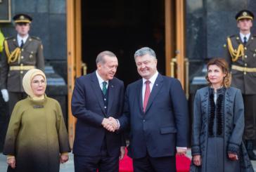 Erdoğan, Cumhurbaşkanlığı İdaresi'nde resmi törenle karşılandı