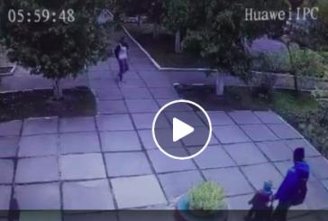 Kiev'de 2 aylık bebek kaçırıldı, sosyal medya seferber oldu (video)