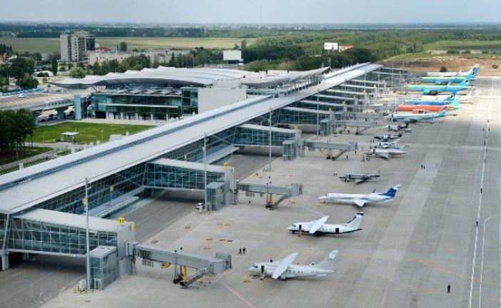 Boryspil'de değişim zamanı, B ve F terminalleri kalkıyor, beş yeni terminal geliyor