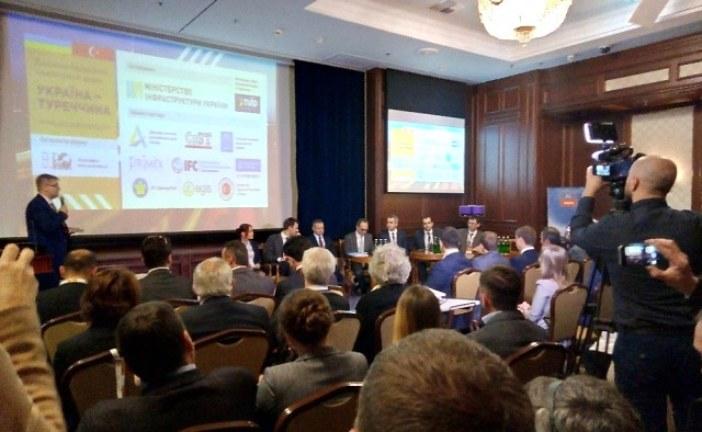 Kiev'de, 'yol – inşaatı yatırım forumu' düzenlendi; Ukrayna'ya güvenin