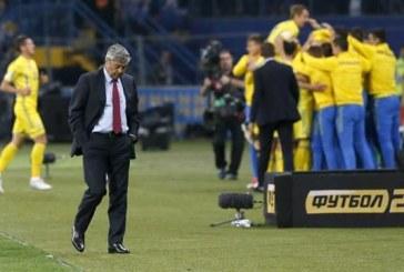 Lucescu'ya Ukrayna maçı sonrası şok ceza
