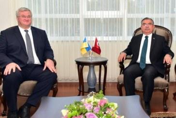 Büyükelçi Sybiha, Milli Eğitim Bakanı Yılmaz'la bir araya geldi, 'işbirliği gelecek vadediyor'