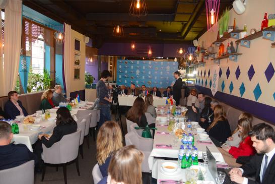 Turizmde hedefler büyüyor, Kiev Turizm Müşavirliği Ukraynalı gazeteciler ile bir araya geldi