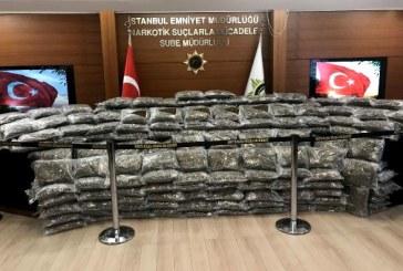 İstanbul'da 300 kg uyuşturucu yakalandı, Ukrayna uyruklu iki kişi gözaltına alındı
