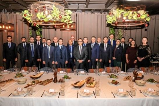 Türk ve Ukrayna iş çevreleri TUSİB'in yeni yıl yemeğinde buluştu