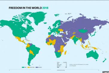 Freedom House raporunu açıkladı, Türkiye 'özgür değil', Ukrayna 'kısmen özgür'