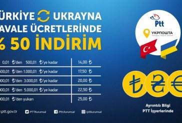 Türkiye-Ukrayna arasındaki havale işlemlerinde yüzde 50 indirim