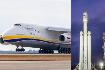 Tarihi olaya Ukrayna katkısı, Falcon Heavy'nin parçalarını Antonov taşımış