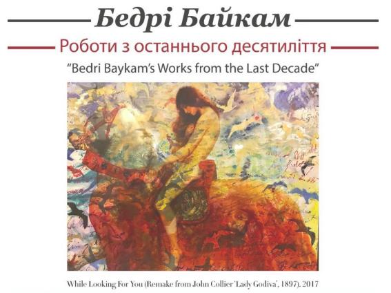 Bedri Baykam Kiev'de sergi açıyor, işte detaylar