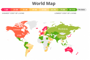 Yaşamın en ucuz olduğu ülkeler listesi yayınlandı, işte Ukrayna