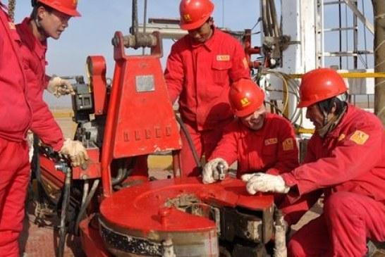 Çin şirketi çalışmalara başladı, 4 bin 940 metrede doğalgaz aranacak