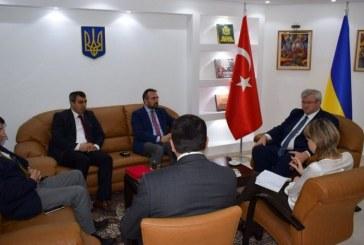 Büyükelçi Sybiha, EkoAvrasya Derneği'ni kabul etti