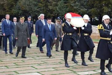 Ukrayna Dışişleri Bakanı Anıtkabir'i ziyaret etti (galeri)