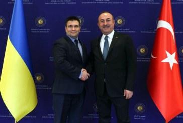 Dışişleri Bakanı Pavlo Klimkin ve Dışişleri Bakanı Mevlüt Çavuşoğlu'ndan Ankara'da ortak basın toplantısı