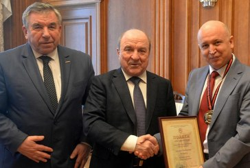 Ukrayna'da TİKA'ya madalya 'destekleriniz için minnettarız'