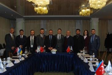 Ukrayna'da yeni bir Türk sivil toplum örgütü kuruldu, EkoAvrasya Derneği ilk toplantısını yaptı (galeri)
