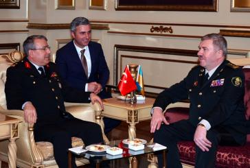 Ukrayna Ulusal Muhafızları Komutanı Türkiye'yi ziyaret etti