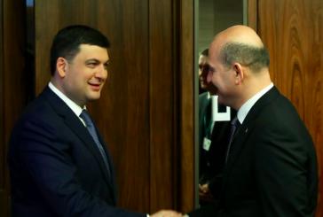 İçişleri Bakanı Süleyman Soylu Ukrayna'ya geldi