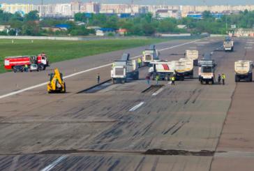 Pist tadilata girdi, THY Zaporijya uçuşları iptal edildi