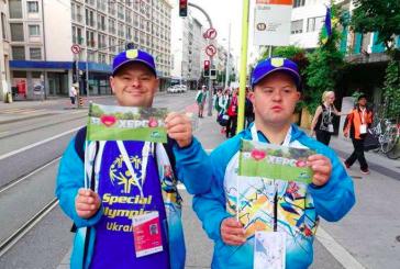 Down sendromlu Ukraynalı sporcular, olimpiyat şampiyonu oldular