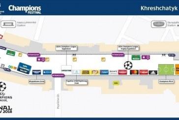 Konserler, turnuvalar, yarışmalar; işte final maçı için kapatılan Kreşçatik Caddesi'ndeki etkinlik programı