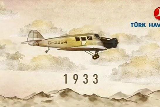 Türk Hava Yolları 85. yaşında, nice yıllara… (video)