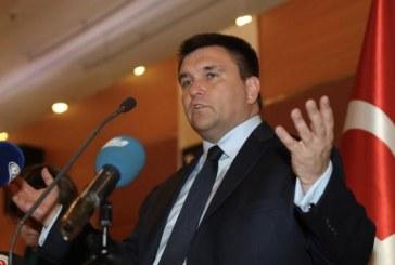 """Türkiye'de iftar yemeğine katılan Dışişleri Bakanı Pavlo Klimkin, """"Kırım Tatarları Ukrayna'nın ayrılmaz parçasıdır"""""""