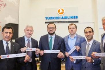 Türk Hava Yolları'ndan görkemli açılış, Kharkiv ofisi hizmete girdi