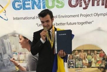 Ukraynalı ilköğretim öğrencisinden, Dahi Olimpiyatları'nda ülkesine altın madalya