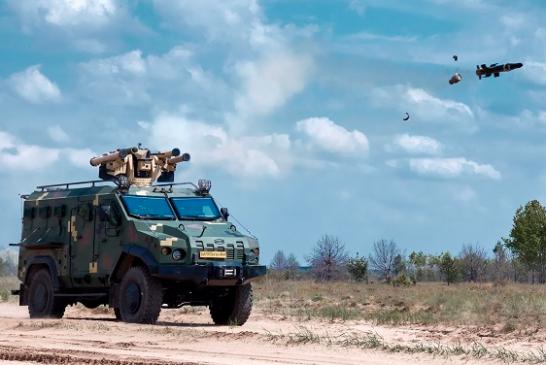 Aselsan füze atıcı sistemi Ukrayna'da test edildi