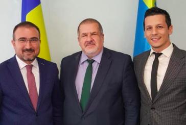 EkoAvrasya temsilcileri Refat Çubarov'la bir araya geldi