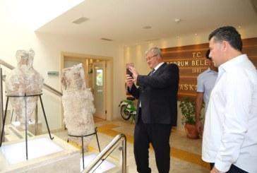 Ukrayna Büyükelçisi'nden Bodrum Belediye Başkanı Kocadon'a ziyaret