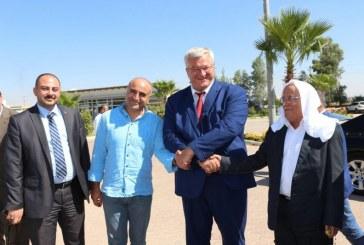 Büyükelçi Sybiha'nın Güneydoğu Anadolu gezileri sürüyor, Şanlıurfa'dan sonra Mardin