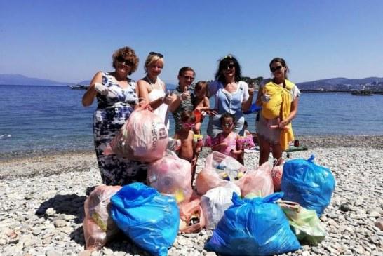 Ukraynalılardan Türkiye'den çevre dostu eylem, çoluk çocuk toplanıp plajları temizlediler