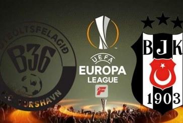 B36 Torshavn – Beşiktaş maçına Ukraynalı hakem