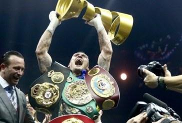 Moskova'da müthiş gece, dünyanın yeni şampiyonu Ukraynalı Aleksandr Usik (video)