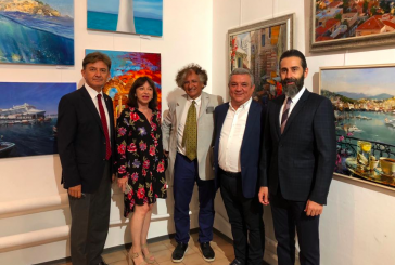 'Ukrayna'da Türkiye' konulu resim sergisi Kiev'de açıldı
