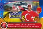 Hedef bir kez daha derece, gönüllü Türk rallici Selami Sezer Kuyalnik Rallisi'ne katılıyor
