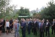 Kiev'de Zafer Bayramı resepsiyonu