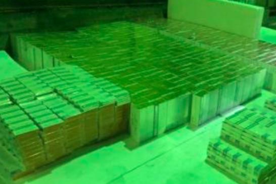 Limanda elektronik sigara operasyonu, ihbar geldi 7 bin pakete el kondu