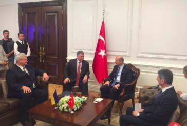 Ukrayna İçişleri Bakanı Avakov Türkiye'de, 'terörle mücadele konusunda her türlü desteği vermeye devam edeceğiz'