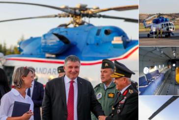 Türk jandarmasının kullandığı helikopterleri Ukrayna tamir edecek, ihale bedeli 40 milyon dolar