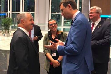 İstanbul Havaalanı açıldı, törene Ukrayna Altyapı Bakanı Omelyan da katıldı