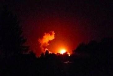 Çernigov bölgesindeki cephanelikte patlama meydana geldi, binlerce kişi tahliye ediliyor