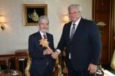 Büyükelçi Sybiha, Ankara Büyükşehir Belediye Başkanı Tuna'yı ziyaret etti