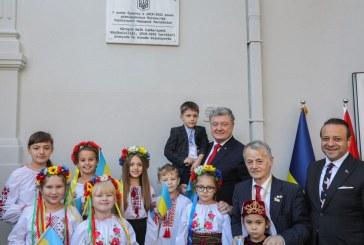 Ukrayna'nın; Osmanlı İmparatorluğu dönemindeki ilk temsilciğinin bulunduğu alanda tarihi gün