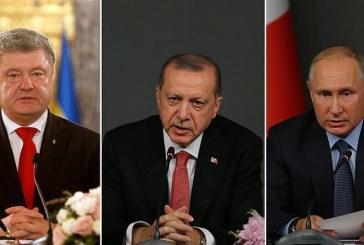 Krizin çözümü için Erdoğan devrede, hem Poroşenko, hem Putin ile görüştü