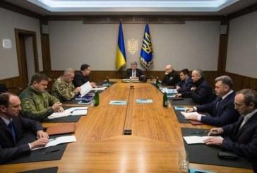 Ukrayna Devlet Başkanı Poroşenko 'Savaş Kabinesi'ni topladı